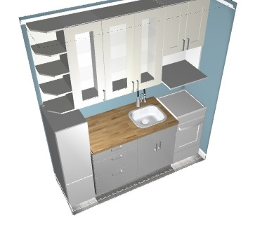 micro kitchen for real life living
